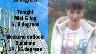 Nev G's London Weather Summary Friday 22nd February 2019