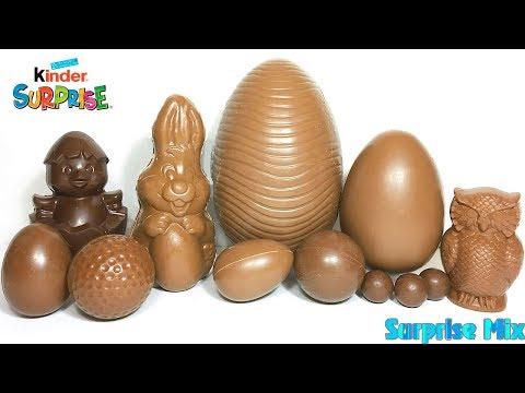 ШОКОЛАДНЫЕ ЯЙЦА И ФИГУРКИ БЕЗ ФОЛЬГИ #3 Сюрпризы КИНДЕР. Unboxing Chocolate Eggs WITHOUT FOIL