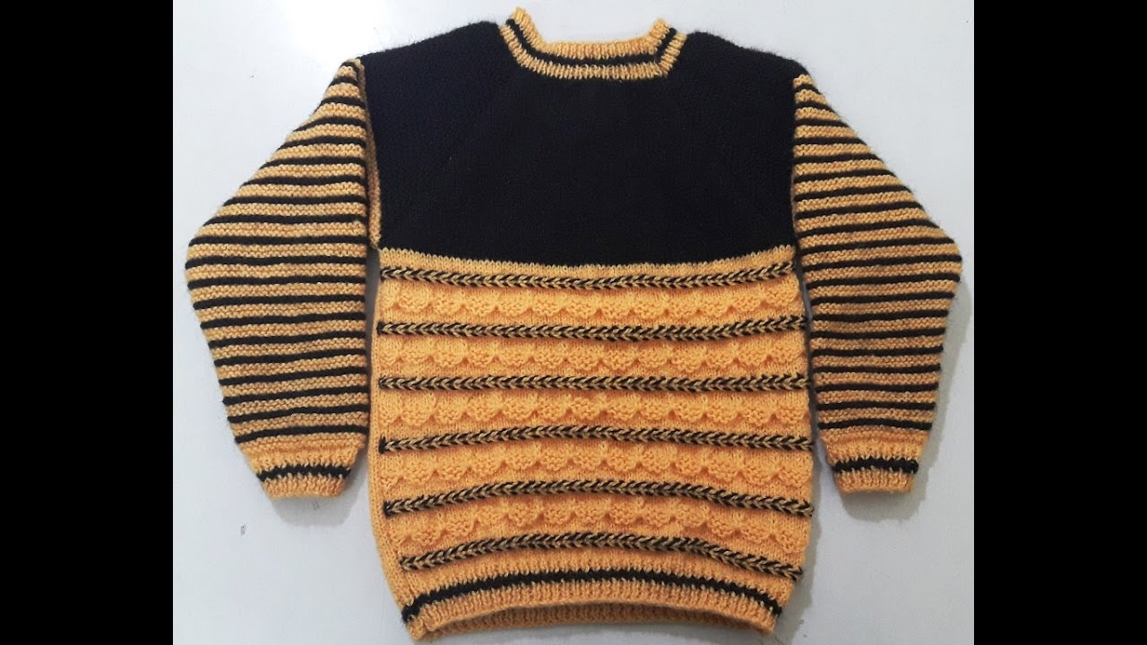 Part 2 - Make Full Sleeves Round Neck Sweater - Step by Step ...