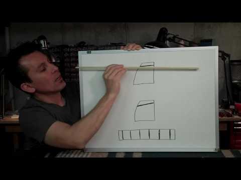 Guitar Nut Details - Billy Penn 300guitars.com