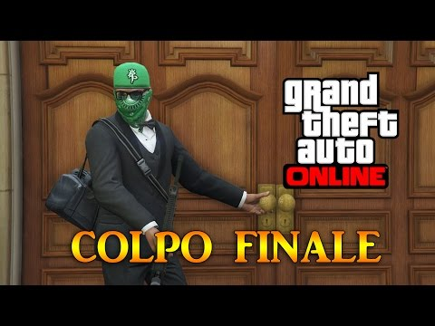 GTA 5 Online Rapine - COLPO FINALE IN BANCA! (Re-upload) - Rapina Pacific Standard #3