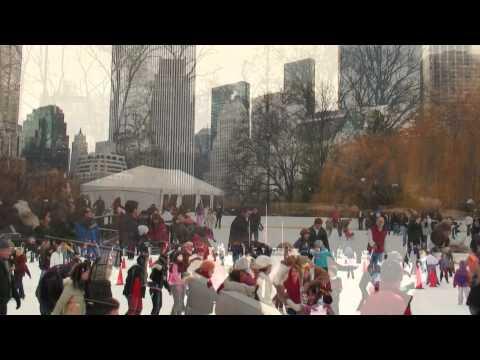 New York - Ice Skating in Central Park