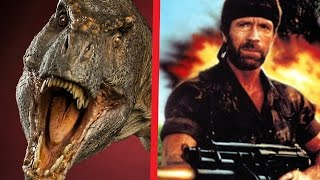 T REX vs CHUCK NORRIS! ENFRENTAMIENTO ÉPICO!   Ultimate Epic Battle Simulator