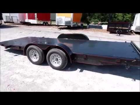 Utility Trailer 7x18 Tilt Steel Car Hauler