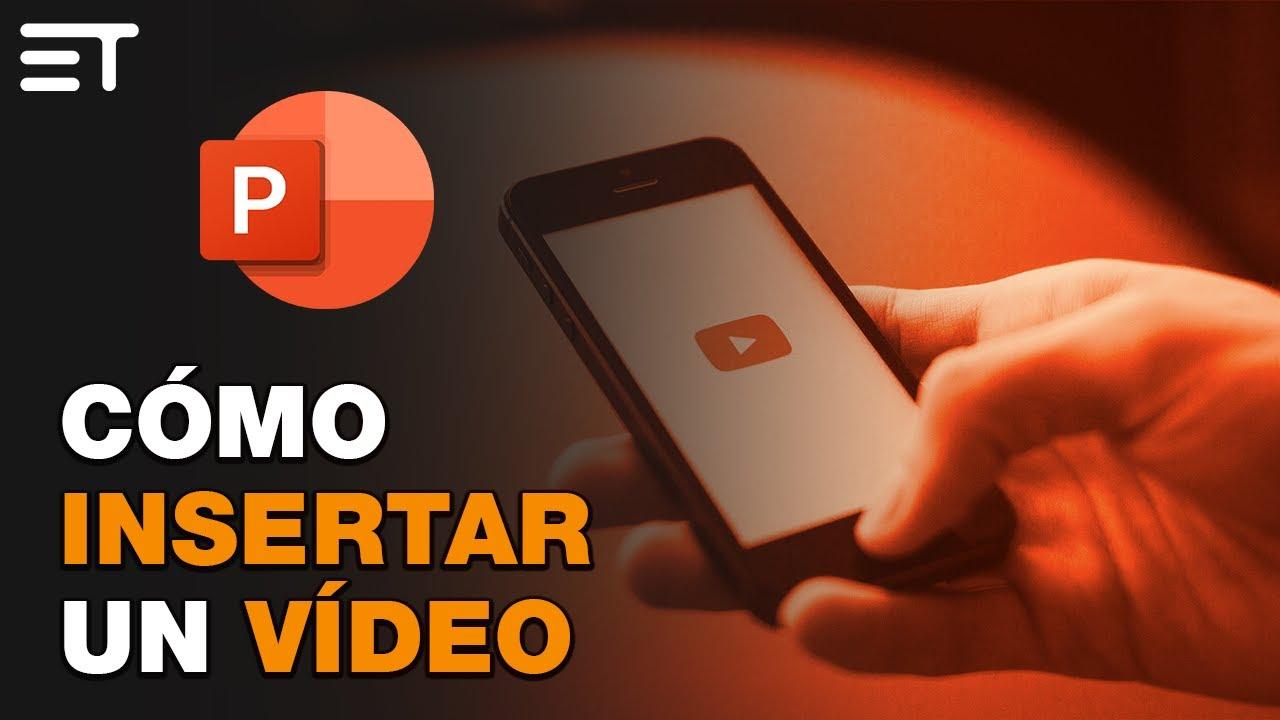 Cómo Insertar Un Vídeo En Power Point Youtube Libros Sobre Educacion Informatica Y Computacion Alfabetización Digital