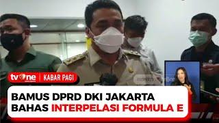 Dianggap Merugikan Negara, PDI dan PSI Tolak Formula E di Jakarta | Kabar Pagi tvOne