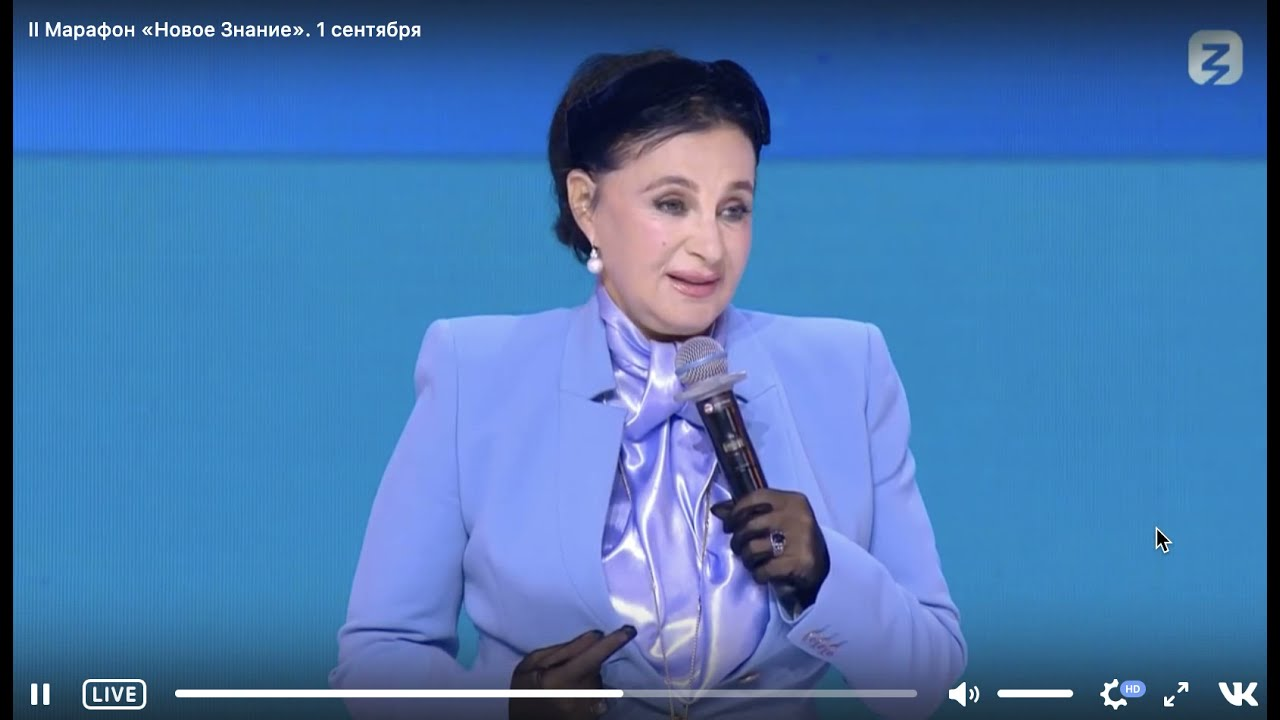 Выступление И.А. Винер-Усмановой на втором Просветительском марафоне \