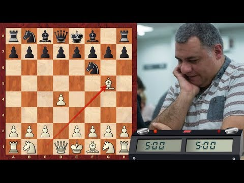 Trompowsky attack (Ruth, Opocensky opening) : LIVE Blitz (Speed) Chess #396 vs. Alka (2336)