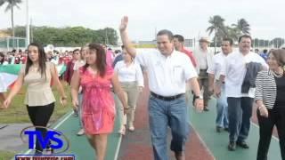 TVS Noticias.- En Coatzacoalcos Participan 4 Mil Alumnos En Concurso De Tablas Rítmicas