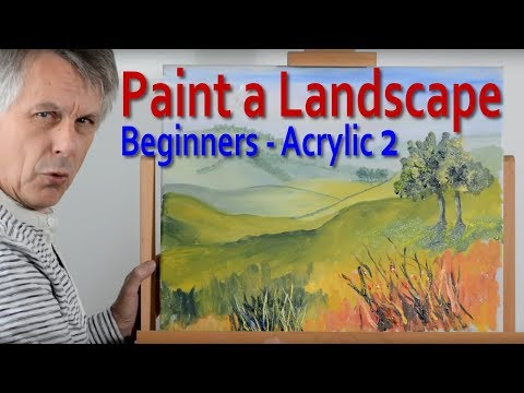 Landscape Painting: Part 2 – How to create depth