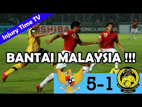 Indonesia 5-1 Malaysia | AFF Cup 2010 | All Goals \u0026 Highlights