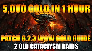 5,000 GOLD IN 1 HOUR (2 OLD RAIDS) WoW Gold Farming Guide