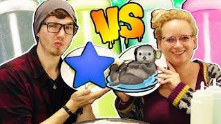 DIY Pancake Challenge | Eva vs Felix | Wer malt besser mit Pancake Teig?! DIY Challenge