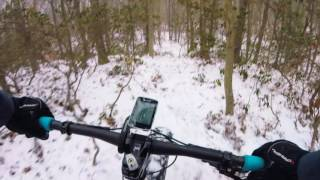 Crunchy Fat Bike Ride