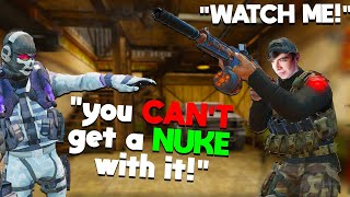 the SLOWEST FIRING SMG is actually INSANE in COD Mobile! (Solo Ranked Nuke)