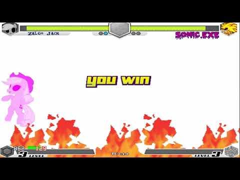 Fighting Is Magic - Tribute Pandora Ponies VS Super Sonic EXE