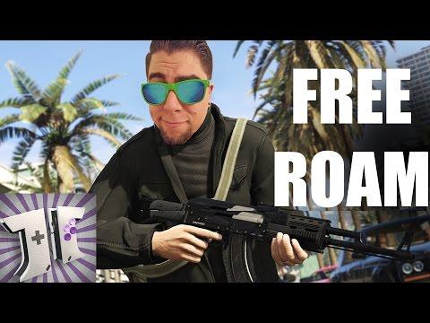 GTA ONLINE: Free Roaming Los Santos Ep13