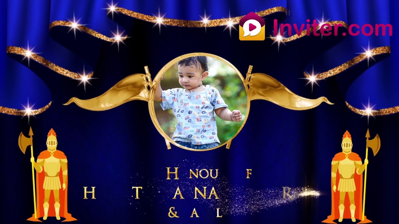 little prince theme birthday invitation template birthday invitation video for boys inviter com