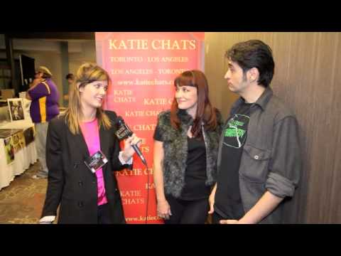 KATIE CHATS: GENRECON, MARK MEER & COURTENAY TAYLOR, MASS EFFECT, DRAGON AGE