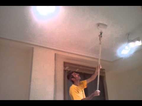 V deo tutorial c mo pintar el techo bruguer doovi - Como pintar techos ...