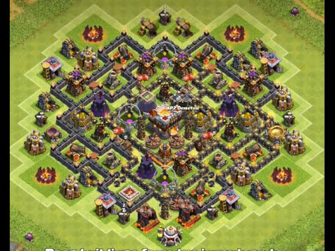 Best Th8 Hybrid Base 2016