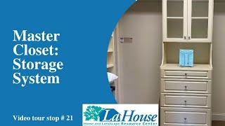 Master Closet: Storage System