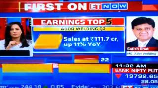 plans in place for further consolidation and growth in q3 and beyond mr satish bhat md awl