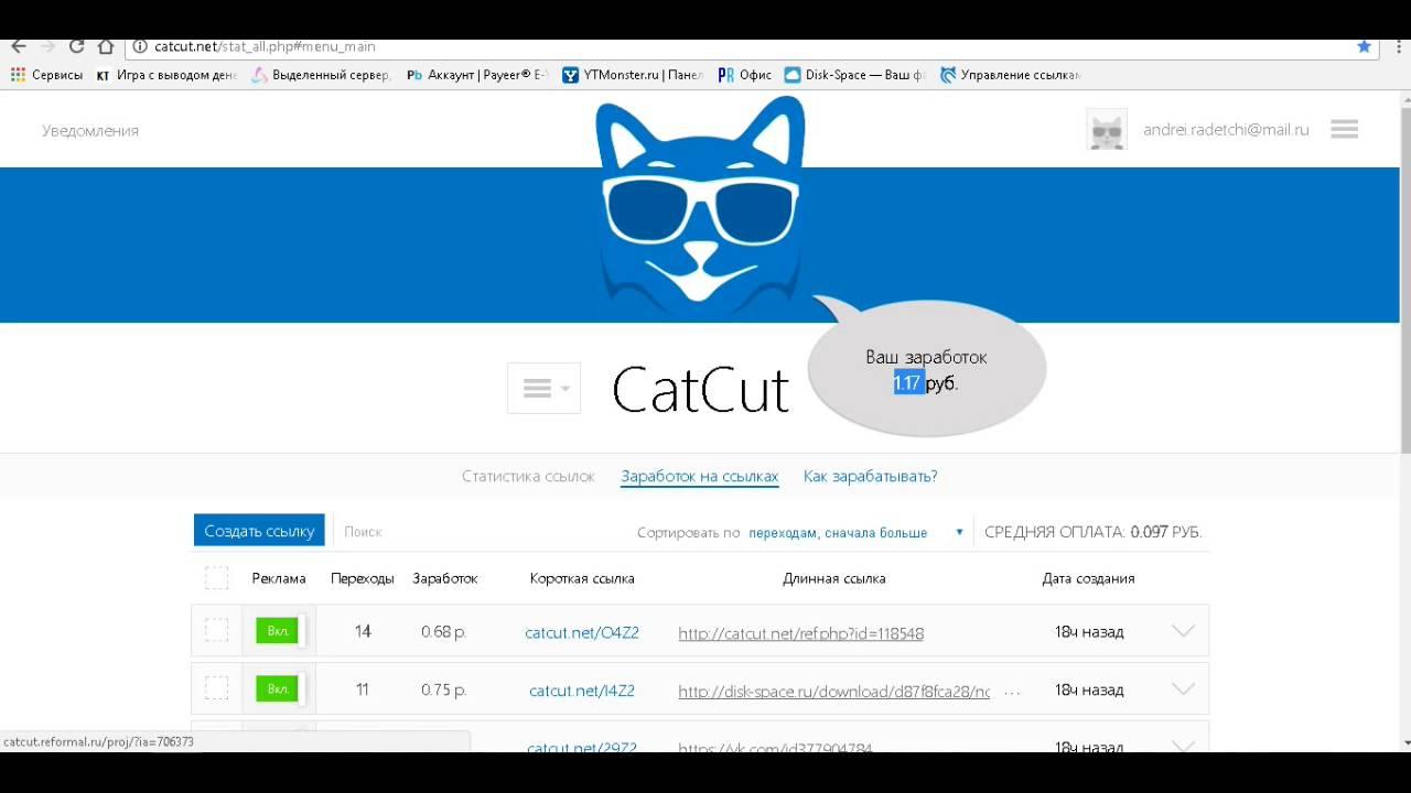 Сайты для заработка в интернете на ссылках онлайн заработок без вложении