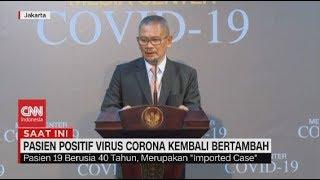 Pasien Positif Corona di Indonesia Bertambah Jadi 19