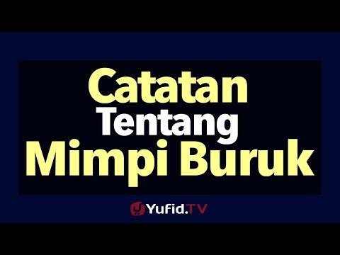 Catatan Tentang Mimpi Buruk - Poster Dakwah Yufid TV