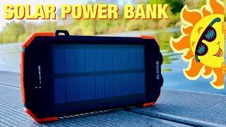 Blavor Solar Powerbank mit Qi Wireless Charging und ein paar Gimmicks mehr an Board TEST REVIEW