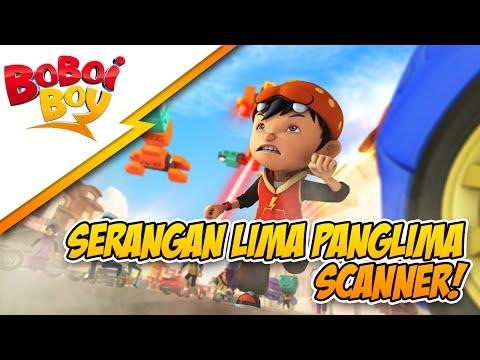 BoBoiBoy Klip Eksklusif 2014: Serangan Lima Panglima Scammer!