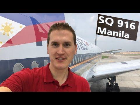 Singapore Air to Manila