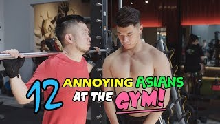 12 Annoying Asians at the Gym!