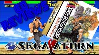 Virtua Fighter Remix Sega Saturn Review HD