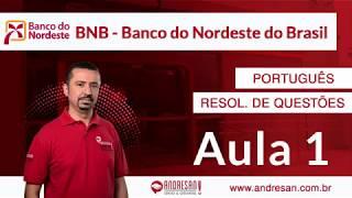 Banco do Nordeste (BNB) - Português - Resolução de Questões - Cespe/Cebraspe