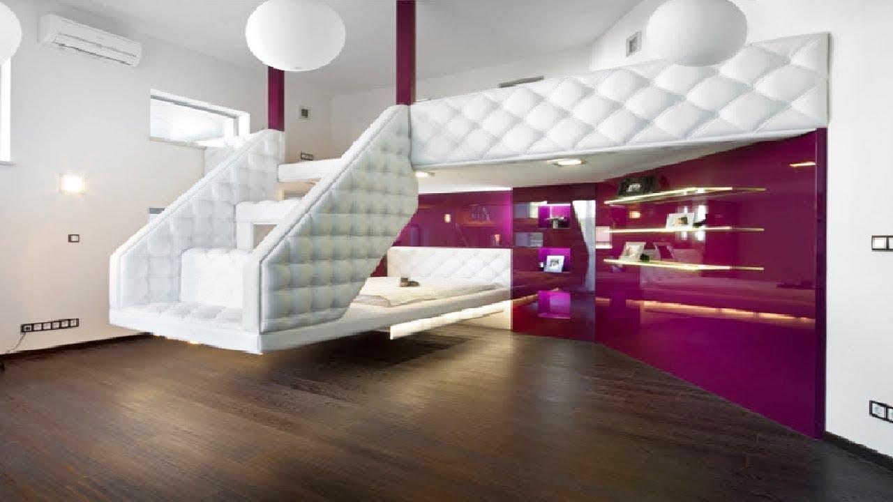 الاثاث الذكي اثاث منزلي يوفر عليك المساحة سيشعرك براحة والهدوء Youtube Teenager Bedroom Design Small Girls Bedrooms White Room Decor Diy