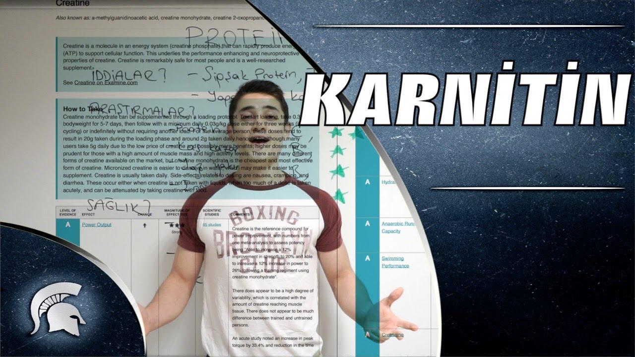 L Carnitine Nedir (L Karnitin) Nasıl Kullanılır Zararları ve Yararları Nelerdir