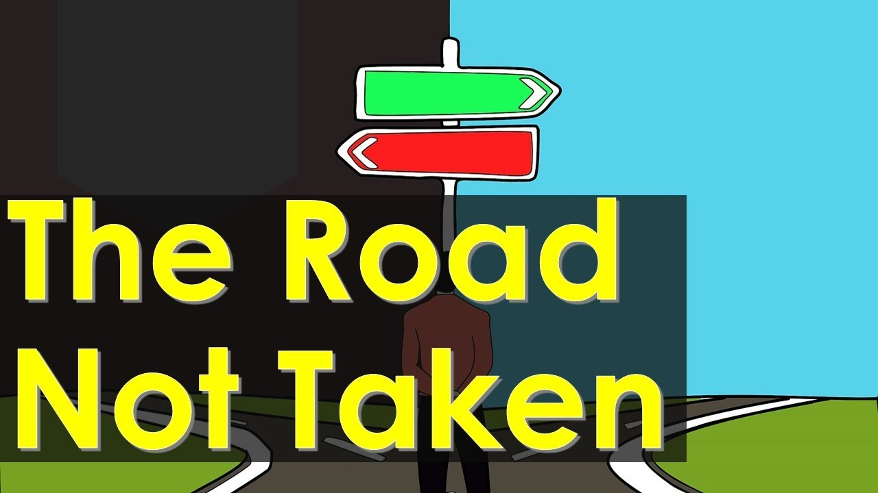 Road Not Taken Class 9 - Explanation NCERT English Beehive Poem meanings,  Literary devices