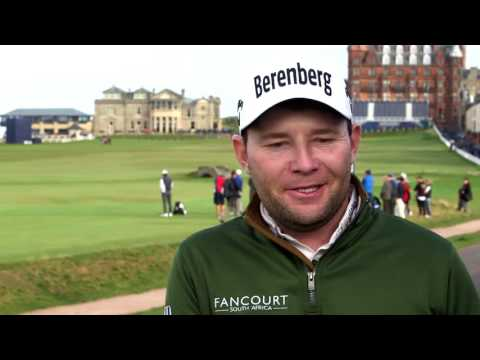Interview with Branden Grace at the 2016 Alfred Dunhill Links Championship
