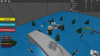 Natural Diaster survival stuck only with tsunami?! | ROBLOX on English