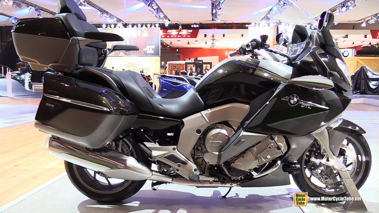 2016 BMW K1600GTL Exclusive - Walkaround - 2015 EICMA Milan - YouTube