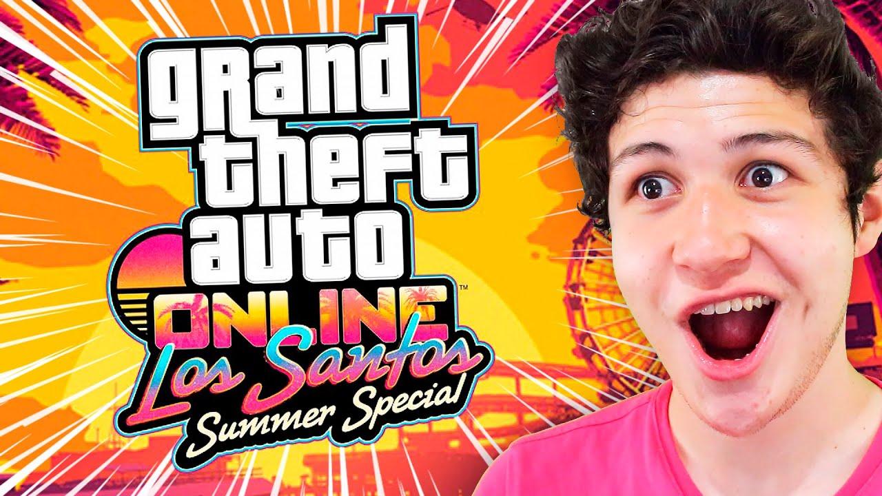 JUEGO la MISIÓN FINAL del NUEVO DLC en GTA 5! Grand Theft Auto V - GTA V Online DLC Summer Special