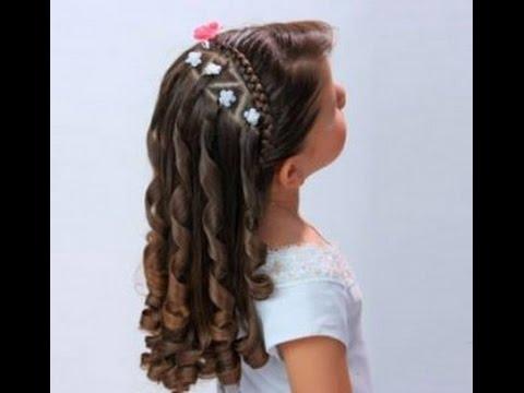Peinados f ciles y r pidos para ni a los mejores youtube - Peinados bonitos para ninas ...