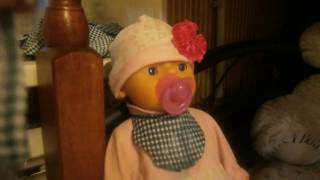 видео-урок как сделать слюнявчик для куклы беби бон
