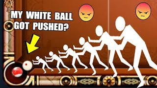 YOU WONT BELIEVE HOW MY WHITE BALL WENT INSIDE THE POCKET...(8 Ball Pool Epic Moment)