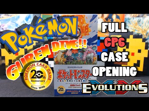 Pokemon Japanese CP6 Case Opening!  20th Anniversary Expansion set finally releases!
