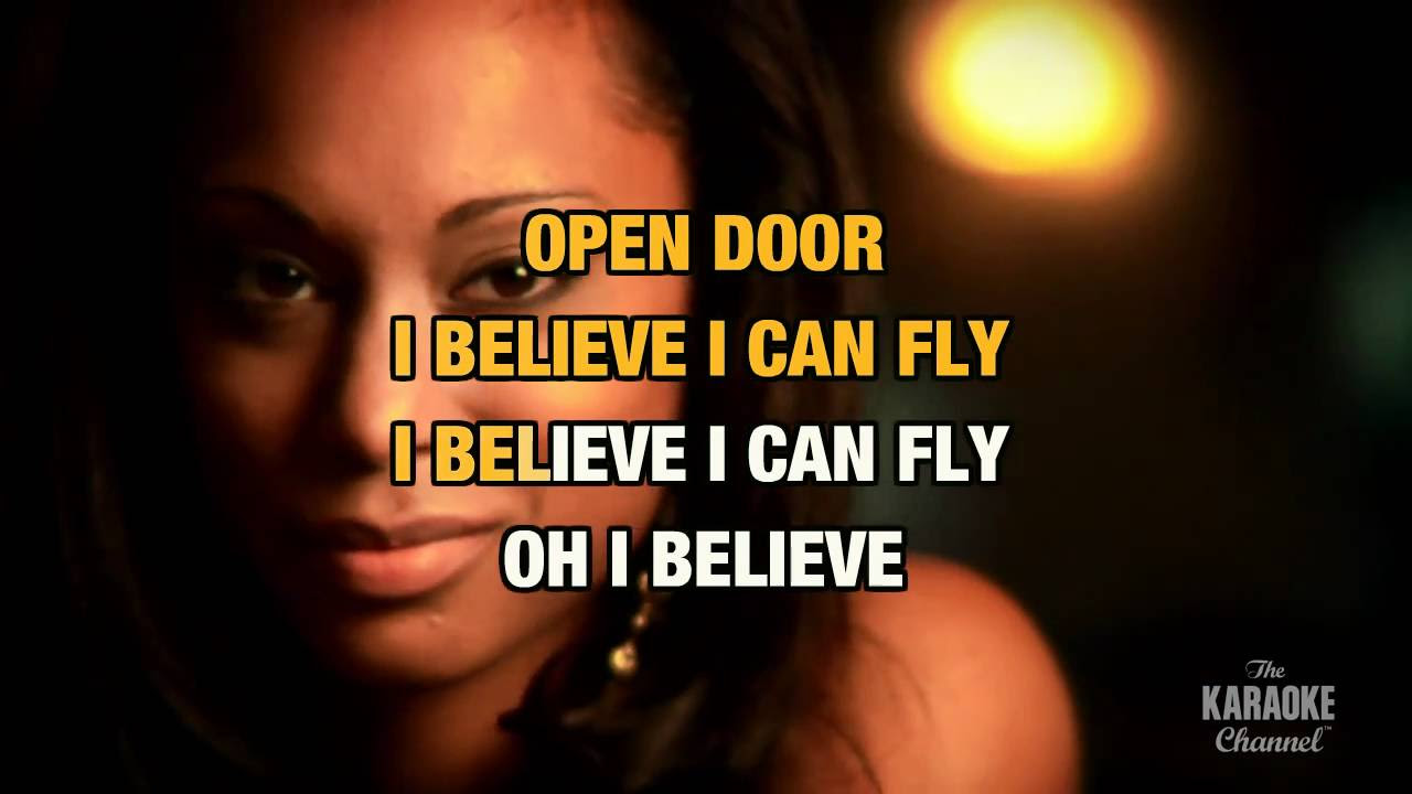 I Believe I Can Fly In The Style Of