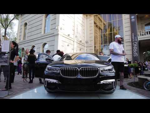BMW Fashion Show Kyrgyzstan