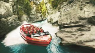 SHOTOVER JET BOATING IN QUEENSTOWN, NEW ZEALAND